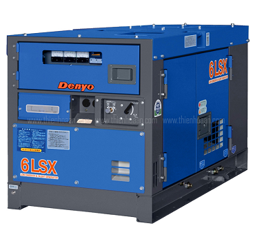 Máy phát điện 1 pha denyo- nhật bản model: DCA-6LSX