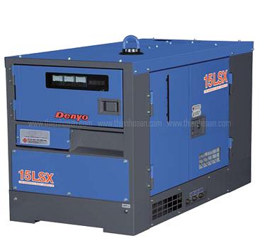 Máy phát điện Máy phát điện 1 pha denyo- nhật bản model: DCA-13LSX